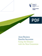 Asian Business Families Succession