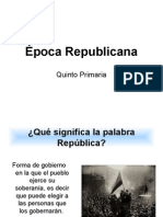 Epoca Republican a 2