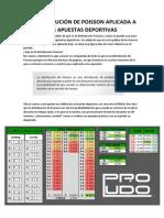 La Distribución de Poisson Aplicada a Las Apuestas Deportivas