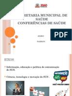 apresentação conferência