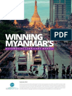 Winning Myanmar Automotive Lubricant's Market