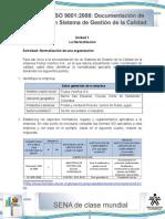 ActivActividad de Aprendizaje unidad 1-La normalizacion de una organizacionidad de Aprendizaje Unidad 1-La Normalizacion de Una Organizacion
