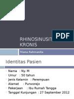 RHINOSINUSITIS KRONIS