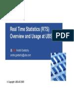 DB2 RTS Usage