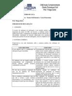 Aulas Complementares- Roteiro de Direito Processual Civil-19.02.2009 ED e EI [1]