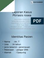 Laporan Kasus - Ptiriasis Rosea