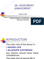 Initial Assesment and Management