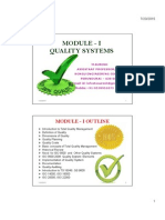 Quality Systems