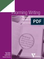Informing Writing
