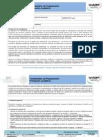 Planeación Didactica Fundamentos de Programación