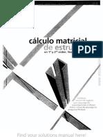 Cálculo Matricial de Estructuras