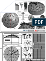 Ateco Geodesic Dome Drawings for Information