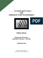 Mathbook-Econ Prep