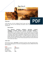 Far Cry 2 Cheats PC
