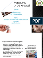 Principios de Tratamiento Antimicrobiano