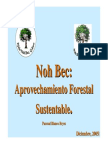 Aprovechamiento Forestal Sustentable
