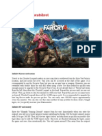 Far Cry 4 Cheatsheet