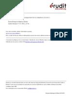 Contribution Des TIC Au Développement de La Compétence à Écrire