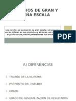 1 Diferencias Entre Estudios de Gran y Pequeña Escala - Copia