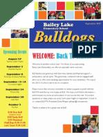 BLE September Back-2-School News