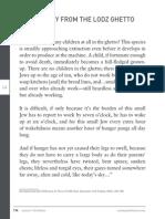 echoesandreflections lesson four primarysource-diaryentryfromthelodzghetto