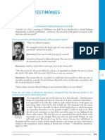 echoesandreflections lesson six primarysource-personaltestimonies