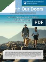 Direct Mail Newsletter - Orthopedics
