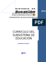 Curriculo Subsistema de Educacion Regular[1]