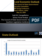 State Fiscal and Economic Outlook