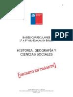 Bases Curriculares Historia 2011 e Basica