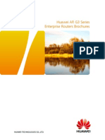 HUAWEI AR G3 Series Enterprise Routers Brochure