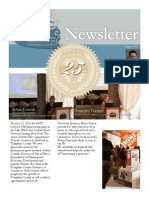 latc newsletter 25th anniversary edition 2015