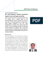GC Tooth Mousse Effective Protection Against Caries and Hypersensitivity