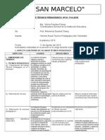Informe Técnico Pedagógico Del Segundo Grado