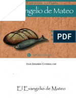 BIBLIA El Evangelio de Mateo Cisterna Felix Eduardo