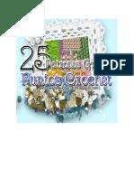 25 Esquemas de Puntadas Ganchillo