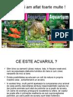 Seminar Acvaristica 1 samnar acvaristica incepatori partea intai