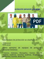 Equipo Proteccion
