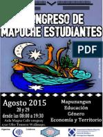 Programa del Segundo Congreso de Estudiantes Mapuche