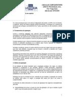 Direito Processual Civil- Prof. Thiago Dutra- Data Da Aula 04.03.2009 AP e AG