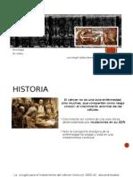 Historio y Epidemiologia Del Cáncer