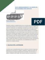 Dimensionamiento y El Diseño Del Sistema Del Equipo de Bombeo Para Edificios