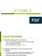 Lecture 09 OF C++
