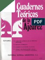 Cuadernos teoricos 22