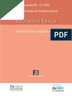 Plan de Estudio de Profesorado en Educacion Basica Copia