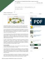 Energías Renovables y Desarrollo Sostenible en Bolivia_ Biodiésel, ¿Energético No Aprovechado