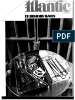 """""""Experiments Behind Bars"""" by Jessica Mitford"""