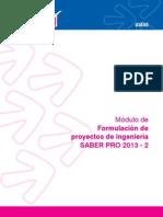 Formulacion de Proyectos de Ingenieria 2013 2