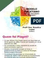 Piaget. Histórico Das Idéias e Conceitos Fundamentais