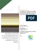 Identificación de Planos Resilientes en Dos Niñas Victimas de Agresión Sexual.